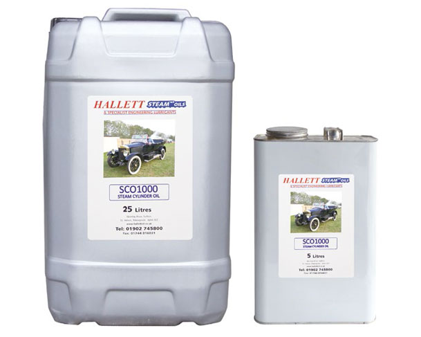 Hallett Steam Cylinder Oil