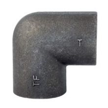 "1"" BSPT MxF Steel Elbow"