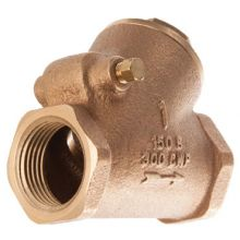 "1 1/4"" BSP Parallel Bronze Swing Check Valve PN20"