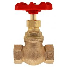 "1/4"" BSPP Bronze Globe Valve PN32 Metal Seated"