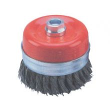 100mm Diameter Twist Knot Wire Cup Brush