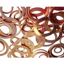 "1/4"" BSP Copper Compression Washer"