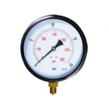 "6"" Dial Pressure Gauge 0-300 PSI/Bar 3/8""BSP Bottom Connection"