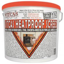 Vitcas Heatproof Screed 10KG Bucket