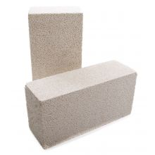 "Insulating Fire Brick (White Moler) 9"" x 4 1/2"" x 3"""