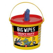 "Heavy Duty ""BIG WIPES"" Tub of 240 HD"