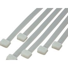 Cable Tie Wraps - Natural  Nylon 2.5 x 200mm Long