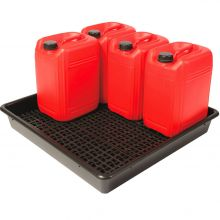 5 x 25L Drum Tray With Removeable Base Grid