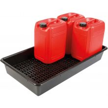 6 x 25L Drum Tray With Removeable Base Grid