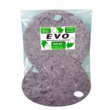 EVO Absorbent Drum Top Pad - Absorbs - 8L - Pack of 5
