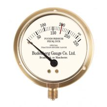 "3"" Dial New Heritage Pressure Gauge - Budenburg Gauge Co.Ltd"
