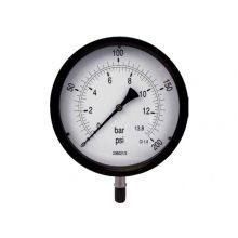 "8"" Dial Pressure Gauge 0-200PSI/Bar 1/2"" BSP Bottom Connection"