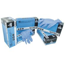 Box of 100 Blue Nitrile Disposable Gloves - Large
