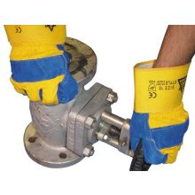 Rigger Gloves Superior Canadian Style Yellow / Blue