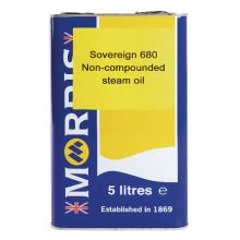 Sovereign 680 Straight Steam Cylinder Oil 5L