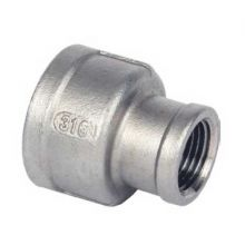 "1 1/2"" x 1"" BSP S/Steel Reducing Socket 150psi"