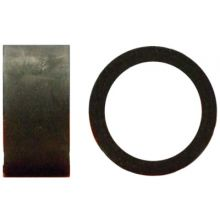 "Rubber Ring 1/2"" ID x 3/4"" OD x 3/8"" Long"