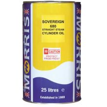 Sovereign 680 Straight Steam Cylinder Oil - 25L