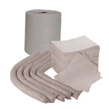 Absorbent Refill Pack: Pads/Socks/Roll/Wiper Roll