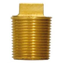 "Washout Plug 1"" BSPT Square Head"