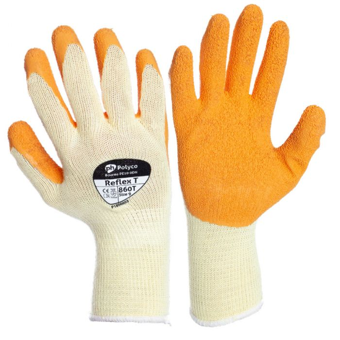 Gloves - Reflex Orange size 10