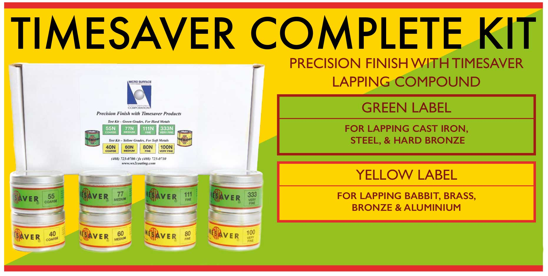 TIMESAVER COMPLETE KIT