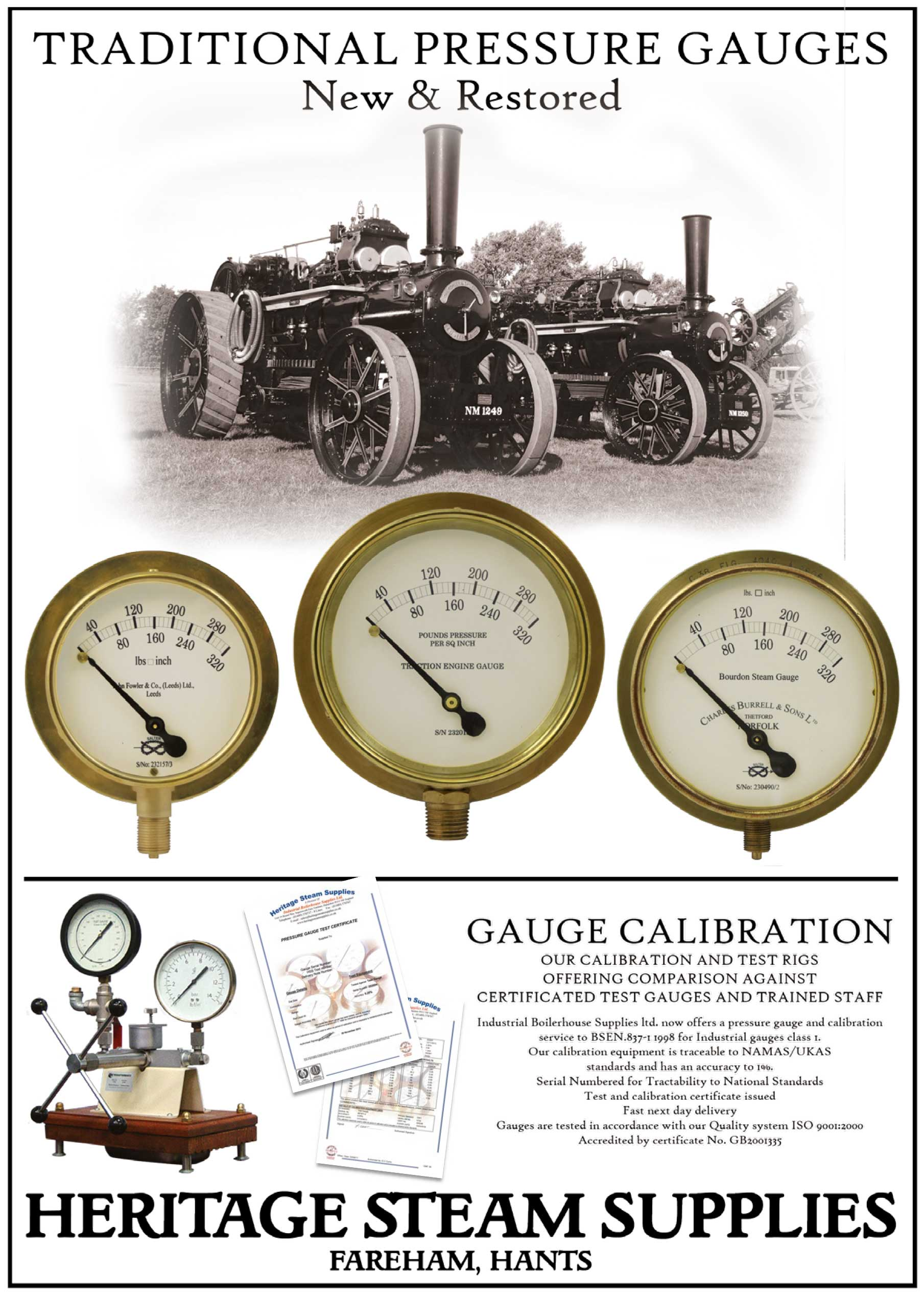 Traditional Pressure Gauges