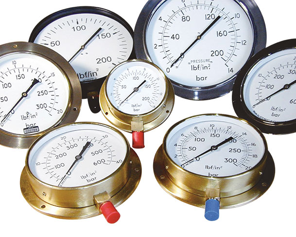 New Standard Boiler Pressure Gauges