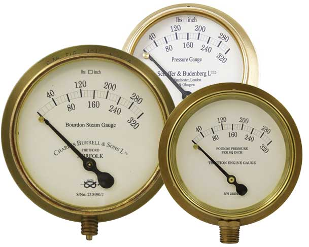 New Tradtional Pressure Gauges