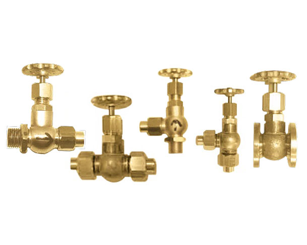 Globe Valves & Drain Cocks for Models & Miniatures